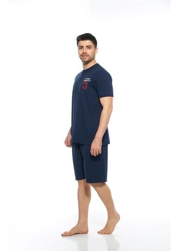 Estiva Pijama Takım Lacivert